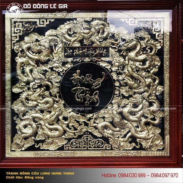 Mua tranh đồng Cửu Long Tranh Châu ở đâu đẹp và đảm bảo chất lượng?